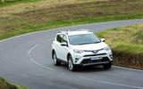 Toyota RAV4 cornering