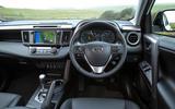 Toyota RAV4 dashboard