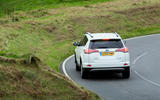 Toyota RAV4 rear cornering