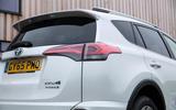 Toyota RAV4 rear lights
