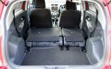 Toyota Urban Cruiser seat flexibility