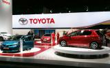 Frankfurt - three new Toyotas