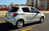 Toyota Yaris rear quarter