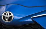 Toyota Yaris nose