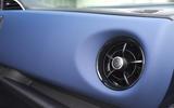 Toyota Yaris Hybrid air vents