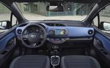 Toyota Yaris Hybrid dashboard