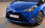 Toyota Yaris Hybrid front end