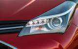 Toyota Yaris Hybrid headlights