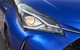 Toyota Yaris Hybrid headlights