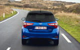 Toyota Yaris Hybrid rear cornering