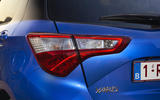 Toyota Yaris Hybrid rear lights