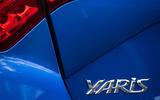 Toyota Yaris rear badging