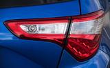 Toyota Yaris rear lights
