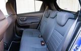 Toyota Yaris rear seats