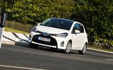 Toyota Yaris cornering