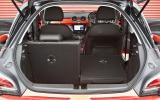 Vauxhall Adam boot space