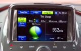 Vauxhall Ampera infotainment system