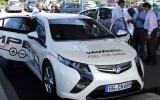 Vauxhall Ampera hits UK roads
