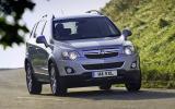 Vauxhall Antara facelift revealed