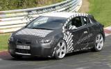 Vauxhall Astra coupé spied