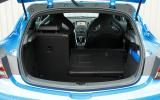 Vauxhall GTC VXR boot space
