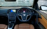 Vauxhall Cascada Elite dashboard