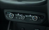 Vauxhall Crossland X climate controls