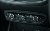 Vauxhall Crossland X climate controls