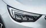Vauxhall Crossland X LED headlights