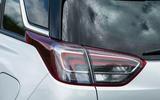 Vauxhall Crossland X rear lights