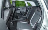 Vauxhall Crossland X rear seats
