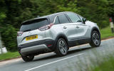 Vauxhall Crossland X rear cornering