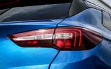 Vauxhall Grandland X rear lights