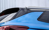 Vauxhall Grandland X rear spoiler