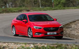 Vauxhall Insignia Grand Sport cornering