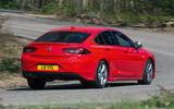 Vauxhall Insignia Grand Sport rear cornering