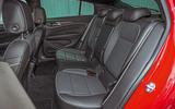 Vauxhall Insignia Grand Sport rear seats