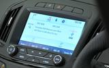 Vauxhall Insignia infotainment system