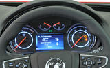Vauxhall Insignia instrument cluster