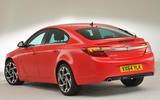 Vauxhall Insignia rear quarter