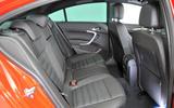 Vauxhall Insignia rear seats