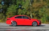 Vauxhall Insignia side profile