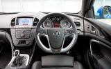 Vauxhall Insignia VXR dashboard