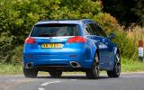 Vauxhall Insignia VXR rear cornering