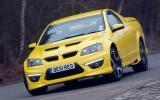 Vauxhall VXR8 Maloo cornering