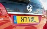 Vauxhall Meriva badging