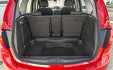 Vauxhall Meriva boot space