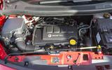Vauxhall Meriva engine bay