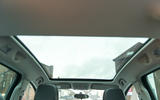 Vauxhall Meriva panoramic sunroof