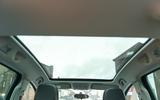 Vauxhall Meriva panoramic sunroof